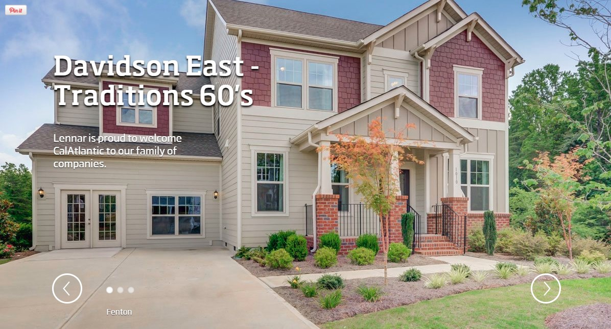 Davidson east homes for sale in davidson nc new for Home builders in eastern nc